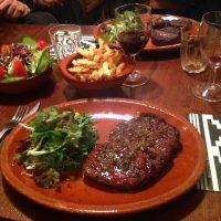 Ribeye Steak at La Patagonia